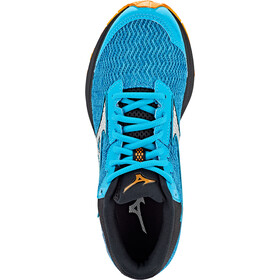 Mizuno Wave Rider TT Zapatillas Trail Running Mujer, bluebird/silver/autumn glory
